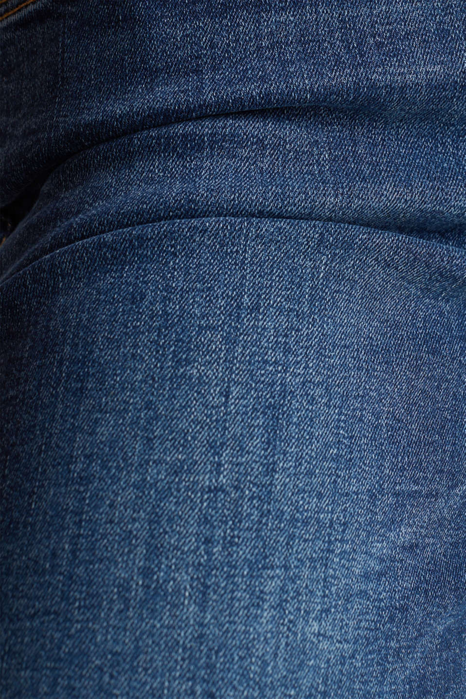 Stretch jeans with double button, BLUE MEDIUM WASH, detail image number 1