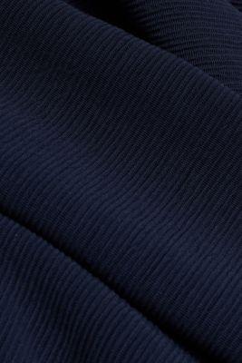 Textured stretch jersey skirt, NAVY, detail