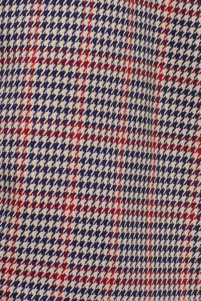 Houndstooth skirt with tuxedo stripes, TAUPE, detail image number 4