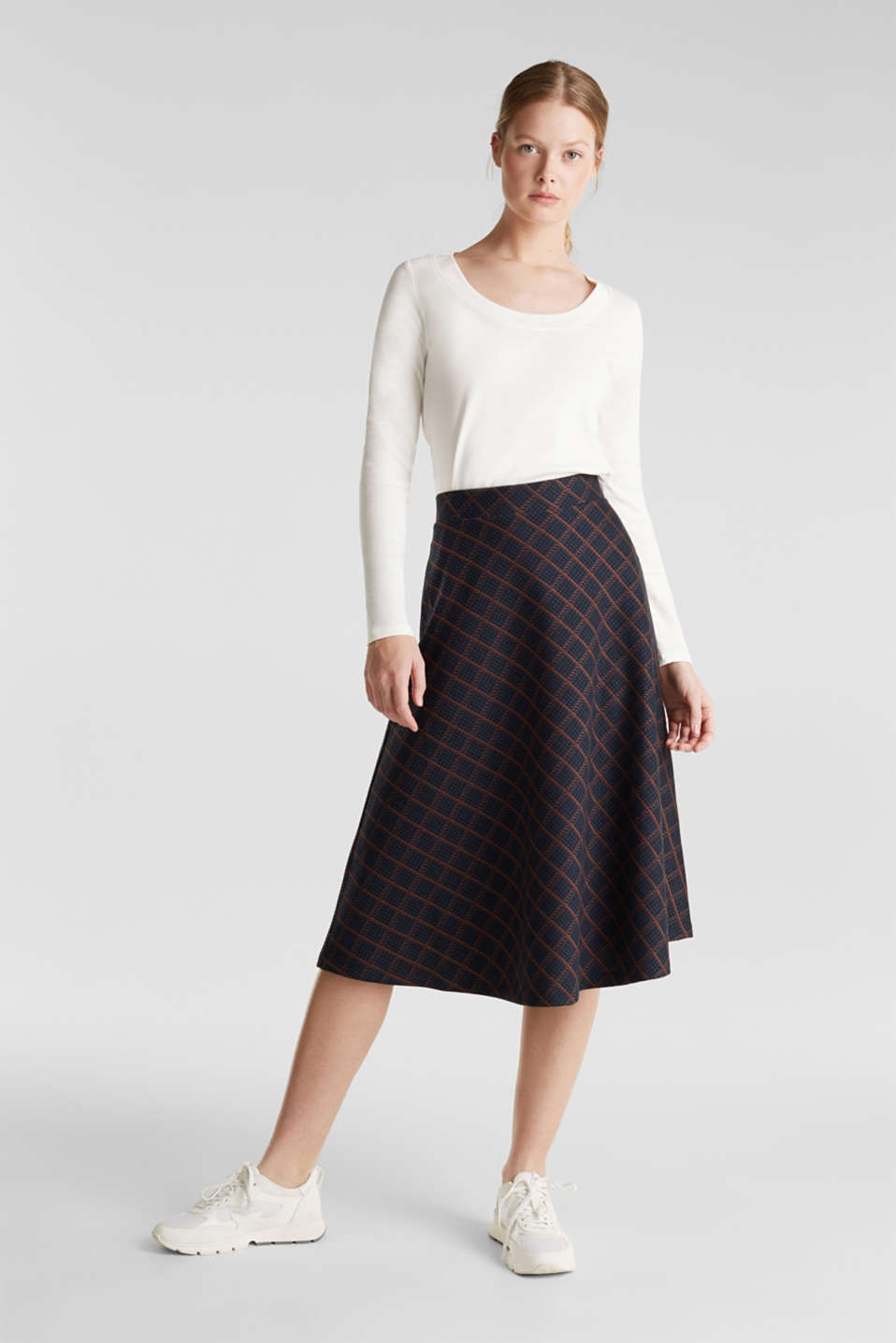 Skirts knitted, NAVY, detail image number 1