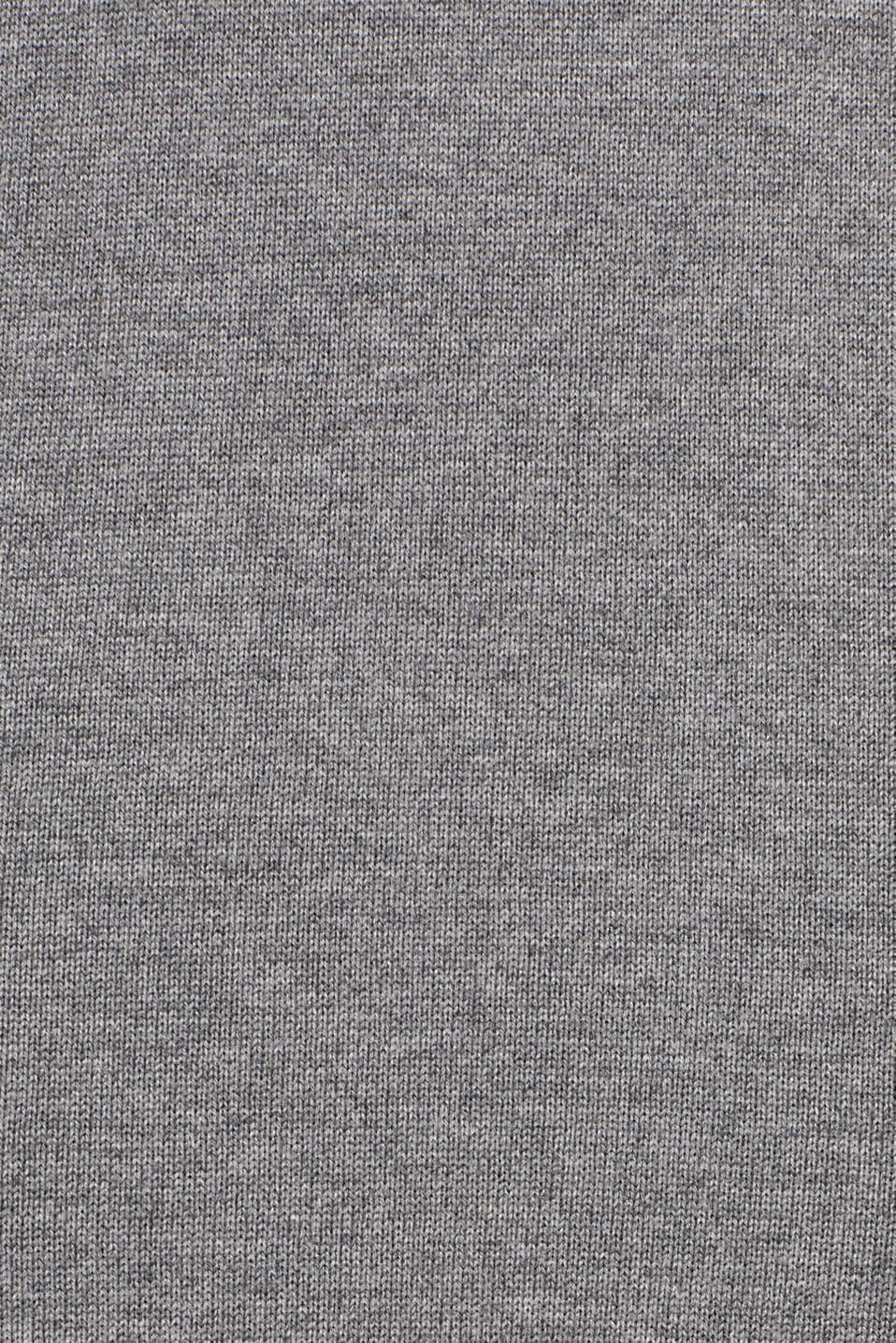 Knitted dress with texture effects, GUNMETAL 5, detail image number 4