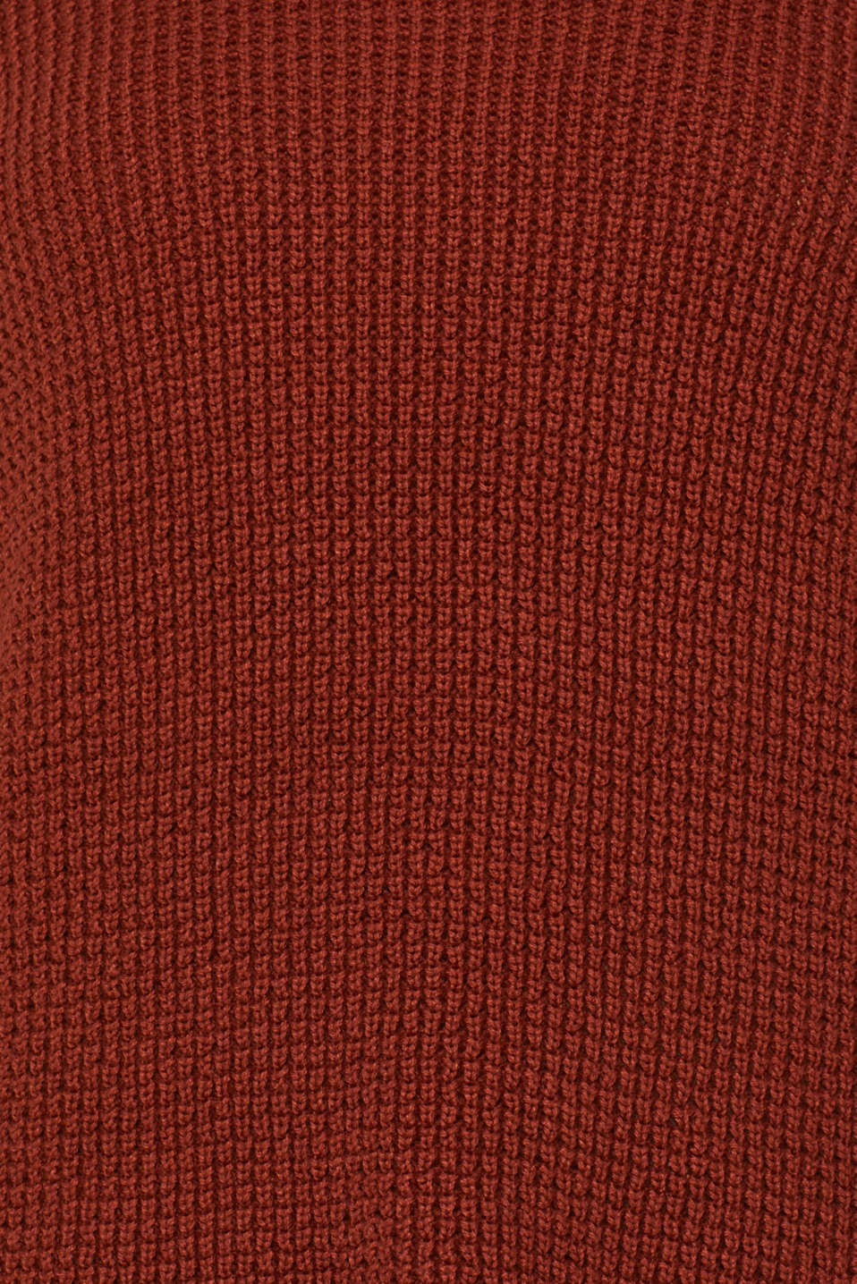 Knit dress made of blended cotton, TERRACOTTA, detail image number 4