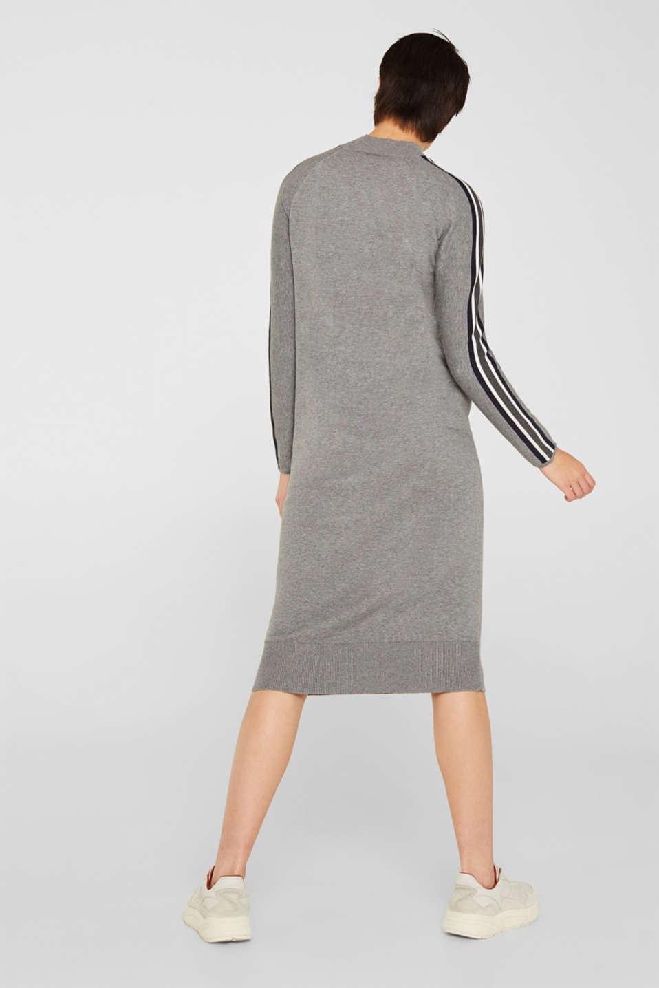 Dresses flat knitted, GUNMETAL 5, detail image number 2