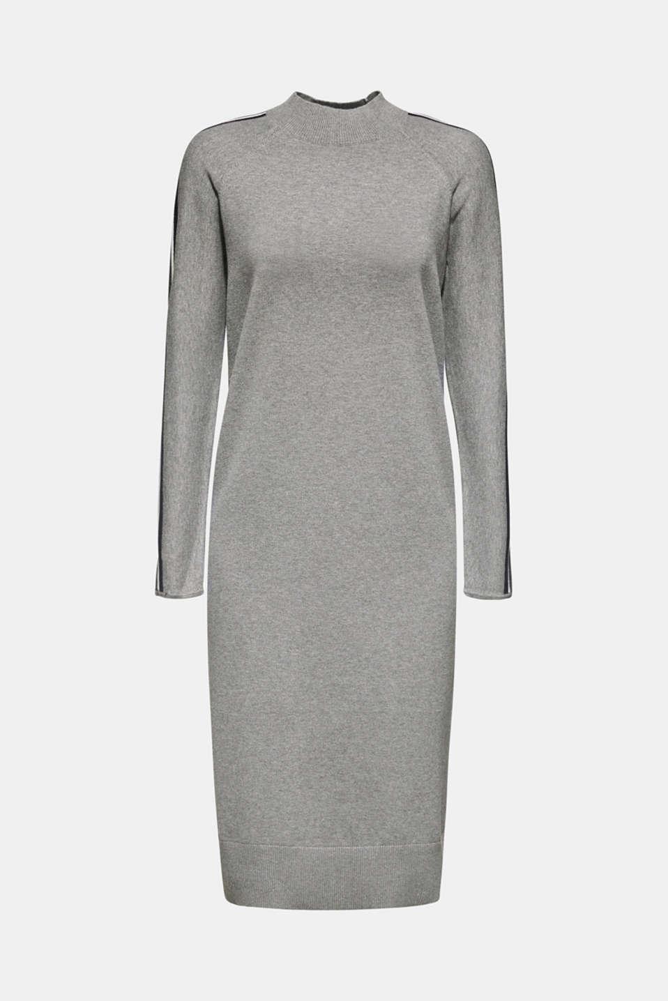 Dresses flat knitted, GUNMETAL 5, detail image number 5