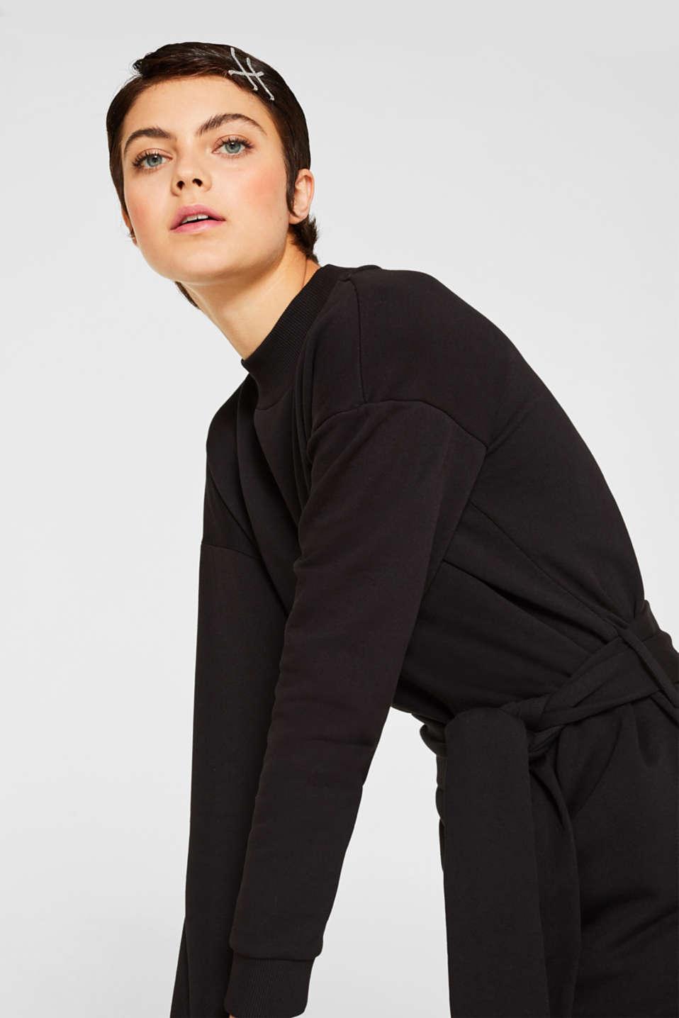 Dresses knitted, BLACK, detail image number 5
