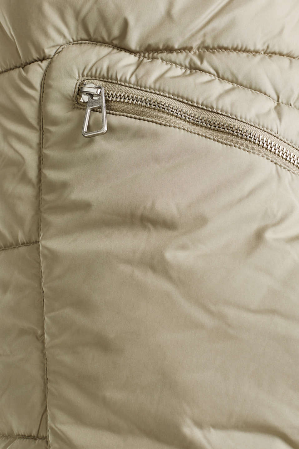 Quilted coat with 3M™ Thinsulate™ padding, PALE KHAKI, detail image number 4