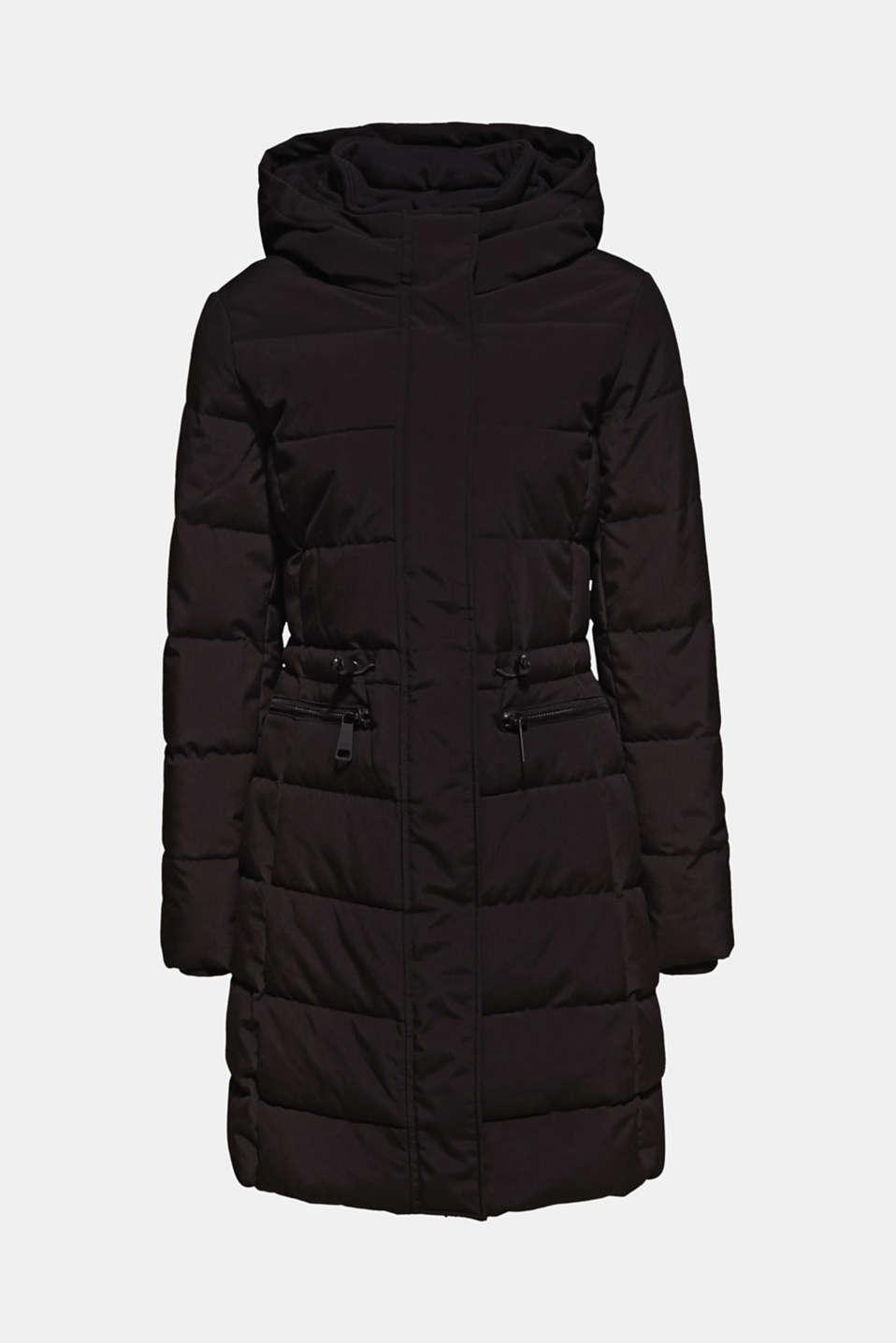 Coats woven, BLACK, detail image number 8