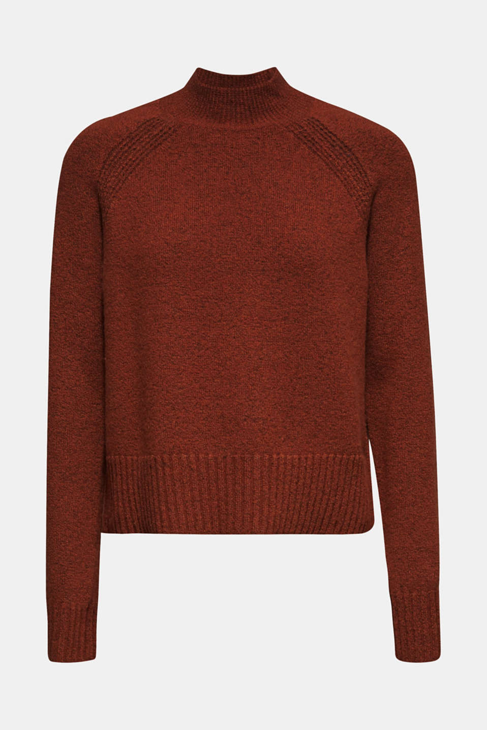Sweaters, RUST BROWN 5, detail image number 6