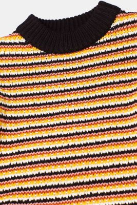 Jumper with multi-coloured stripes, NAVY 2, detail