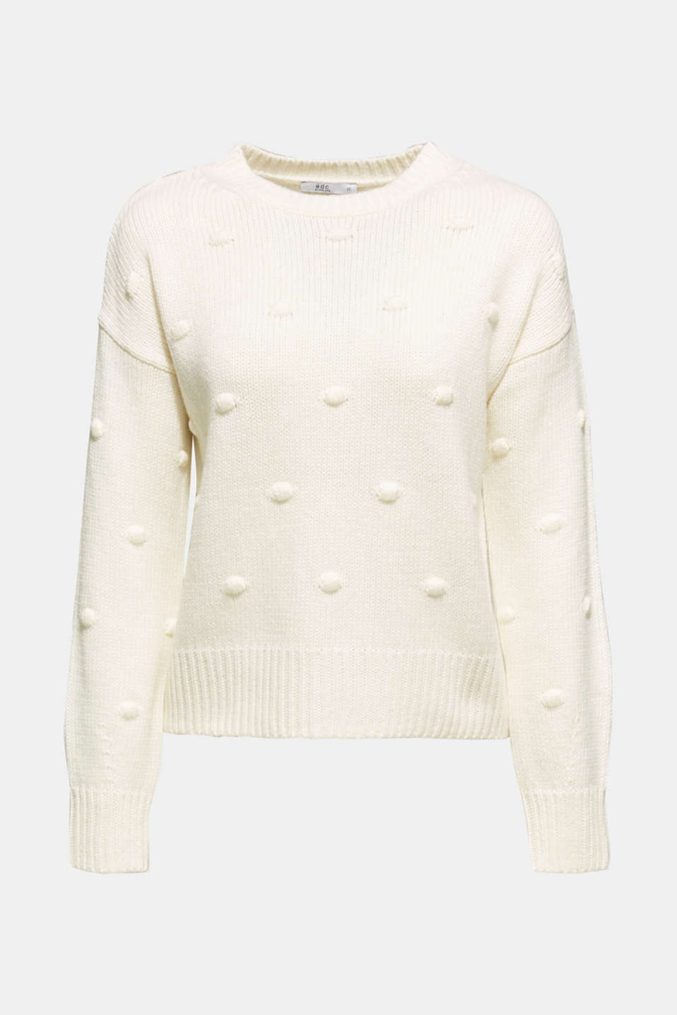 Sweaters, OFF WHITE, detail image number 8