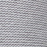 Polo neck jumper with cable pattern, LIGHT GREY 5, swatch