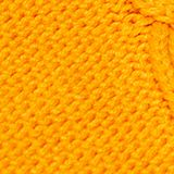 Polo neck jumper with cable pattern, HONEY YELLOW, swatch