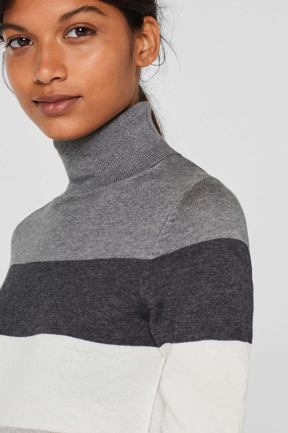 Sweaters, DARK GREY 4, detail image number 2