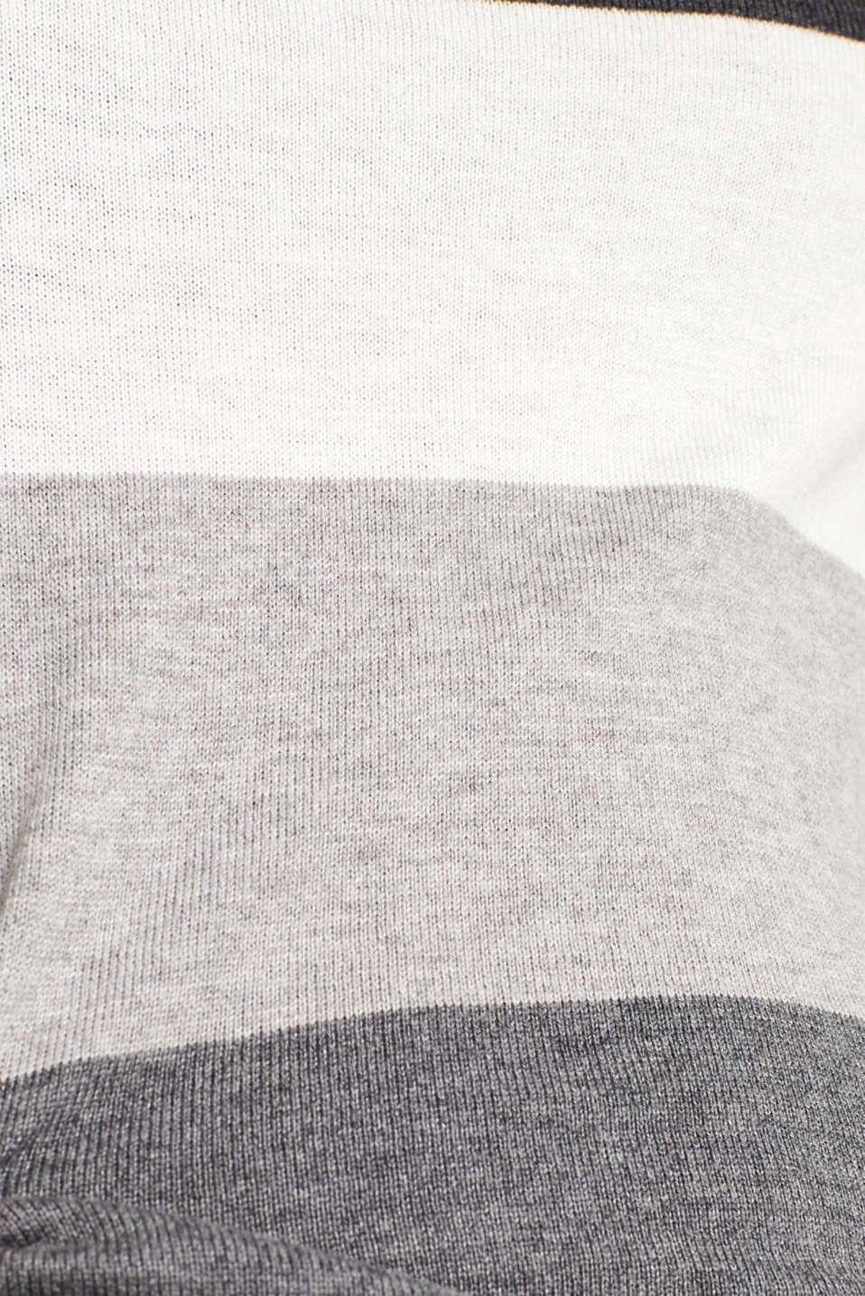 Sweaters, DARK GREY 4, detail image number 4