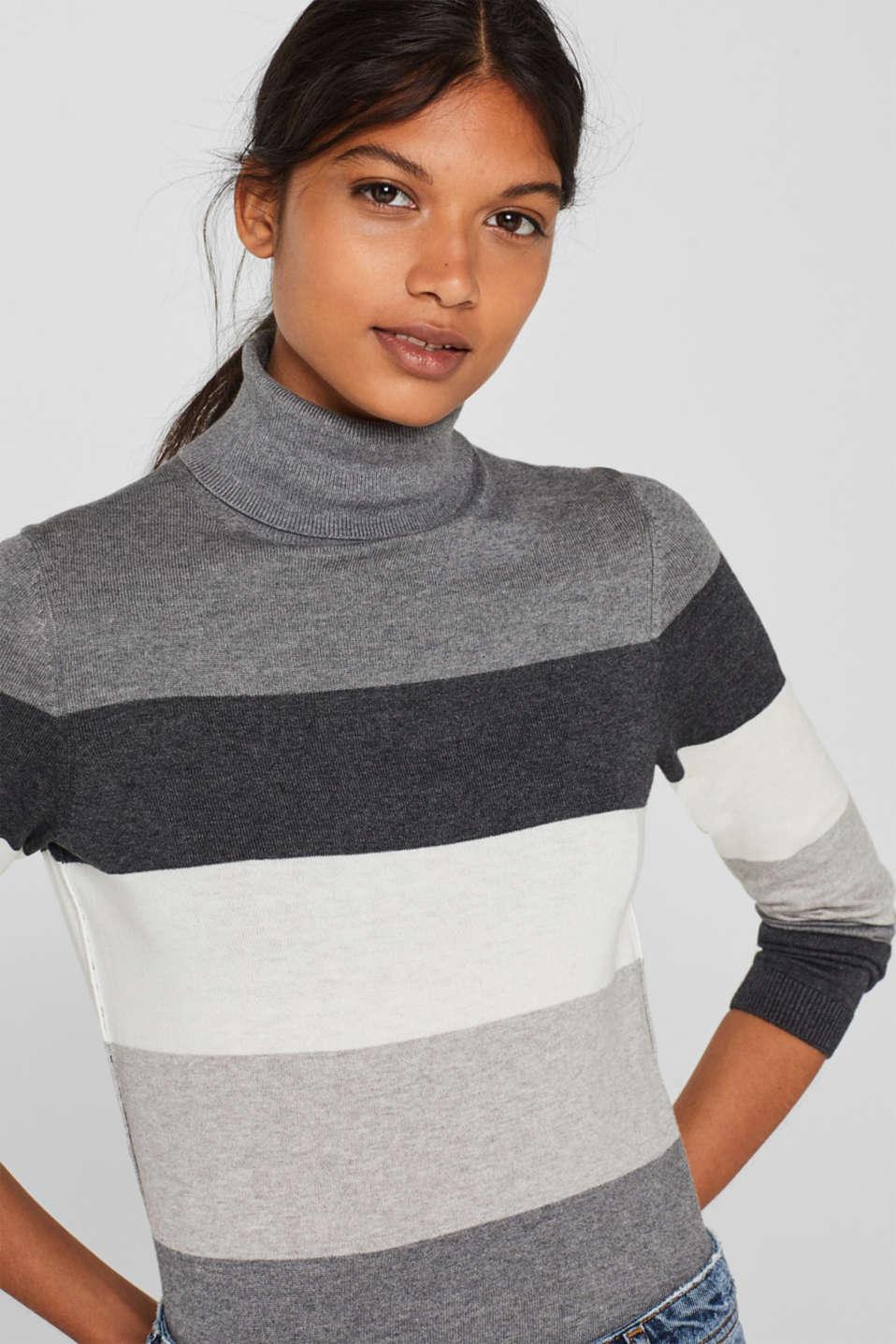 Sweaters, DARK GREY 4, detail image number 6