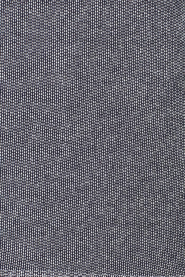 Sweatshirt mit 2-tone-Struktur, NAVY, detail image number 4