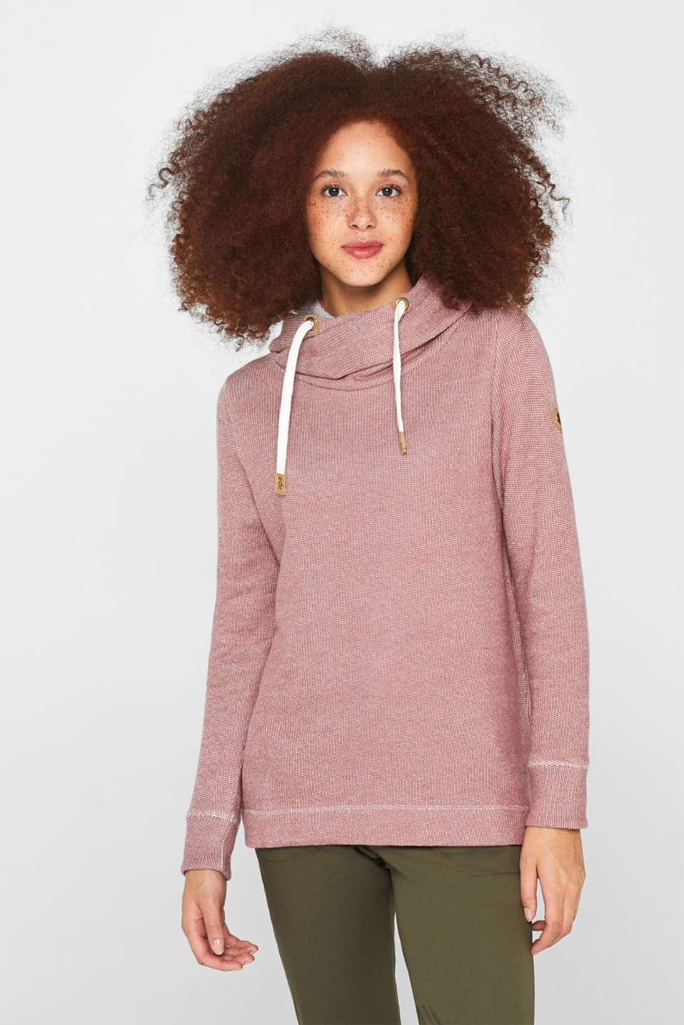 edc by Esprit Longsleeve dark old pink