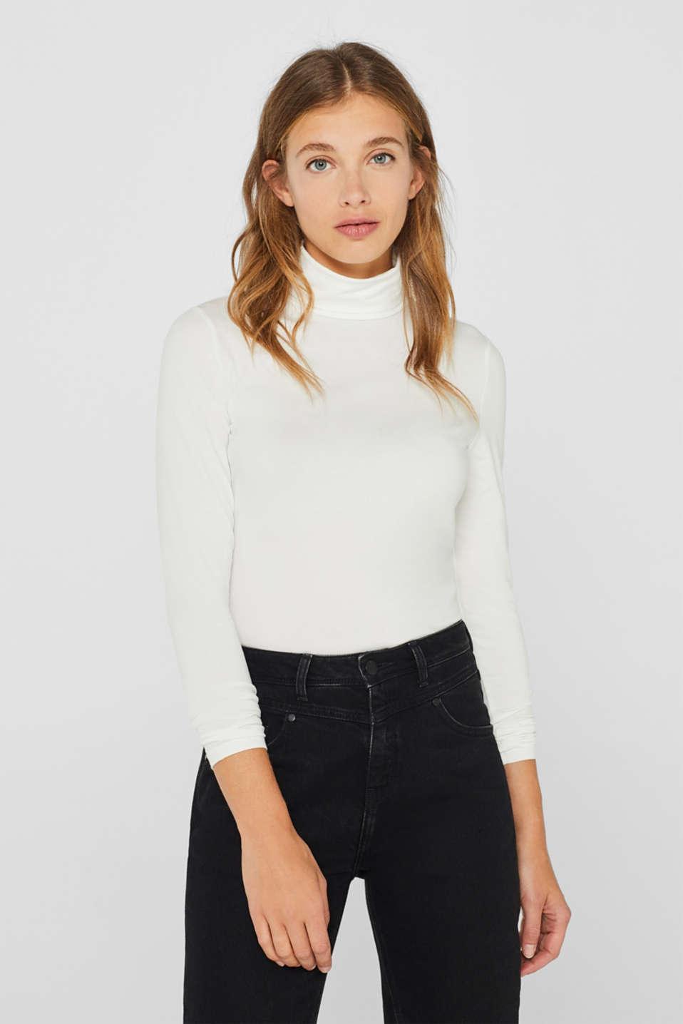 edc : Camiseta de manga larga con cuello alto y componente