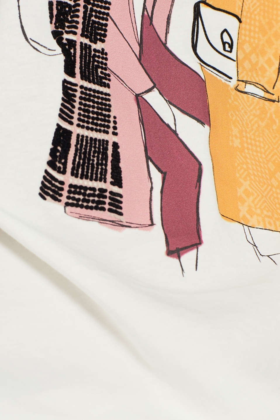 Fashion T-Shirt, OFF WHITE, detail image number 4