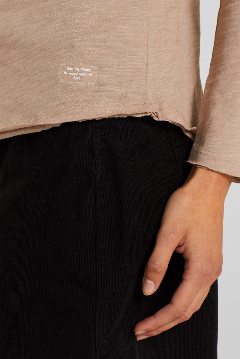T-Shirts, TAUPE 5, detail image number 5