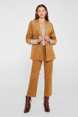 Lightweight slub long sleeve top with organic cotton, TAUPE 5, detail