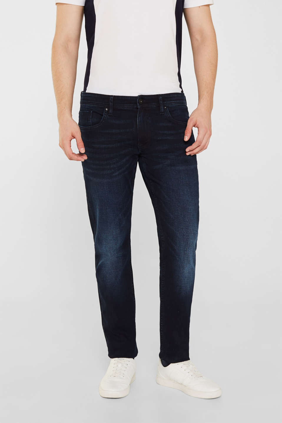 edc - Stretch jeans with a washed out finish