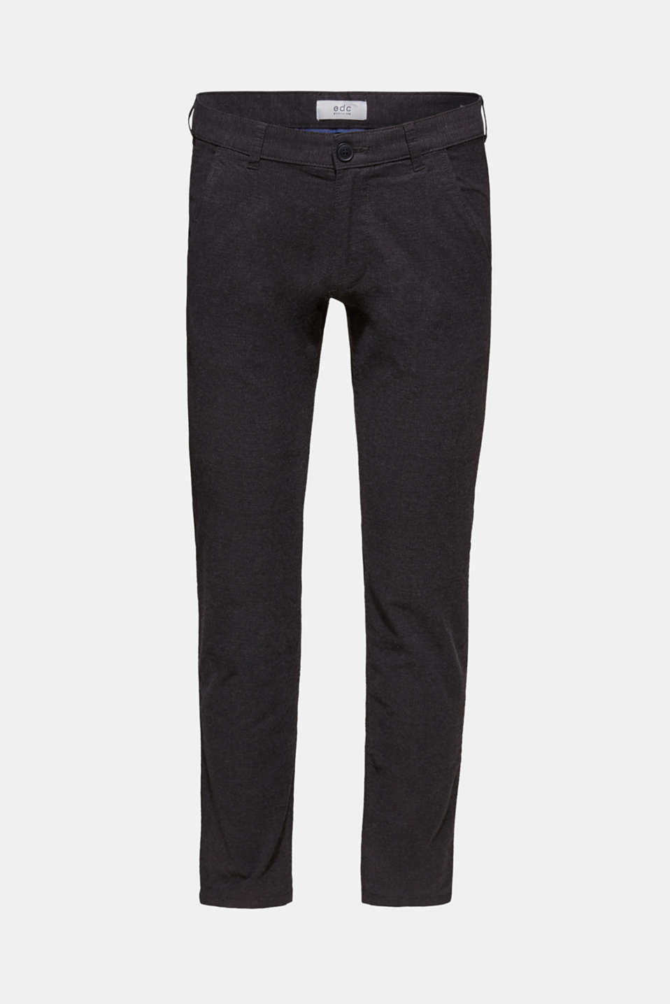 Pants woven Slim fit, ANTHRACITE, detail image number 7
