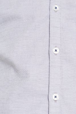 Finely textured shirt, 100% cotton