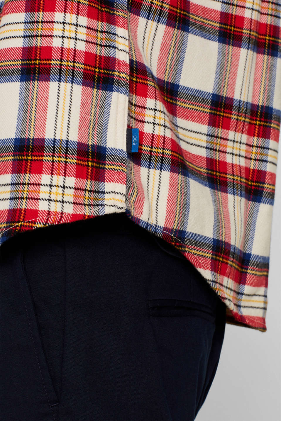 Shirts woven Regular fit, BORDEAUX RED 2, detail image number 5