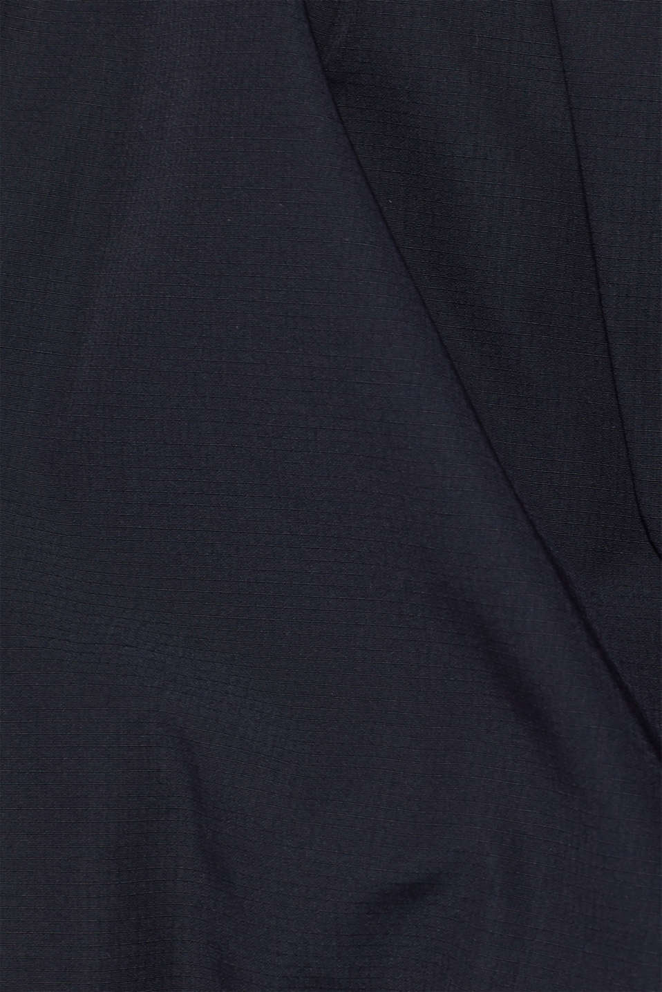 Winter jacket with a faux fur hood, NAVY, detail image number 5