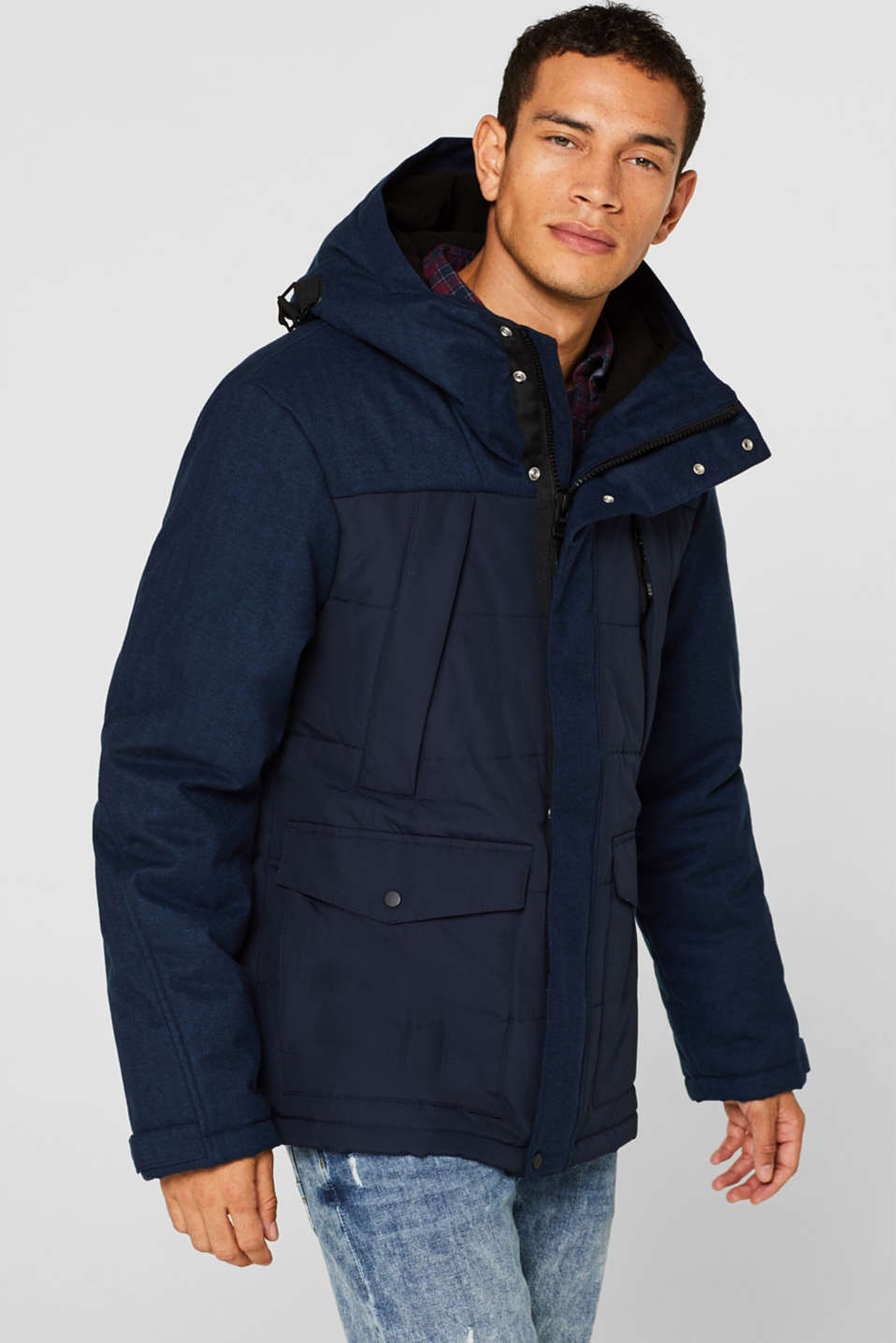 Jackets outdoor woven, NAVY, detail image number 0