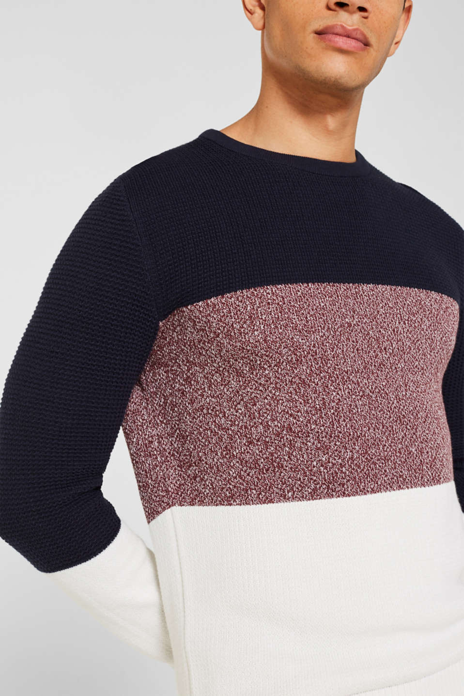 Sweaters, BORDEAUX RED 2, detail image number 2