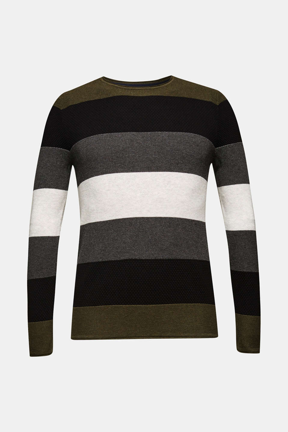 Sweaters, KHAKI GREEN, detail image number 7