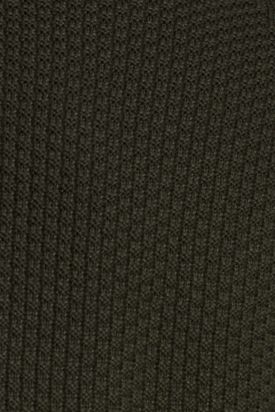 Sweaters, KHAKI GREEN, detail image number 4