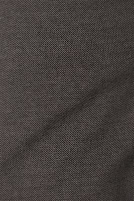 Long sleeve jersey top in 100% cotton, GREY, detail