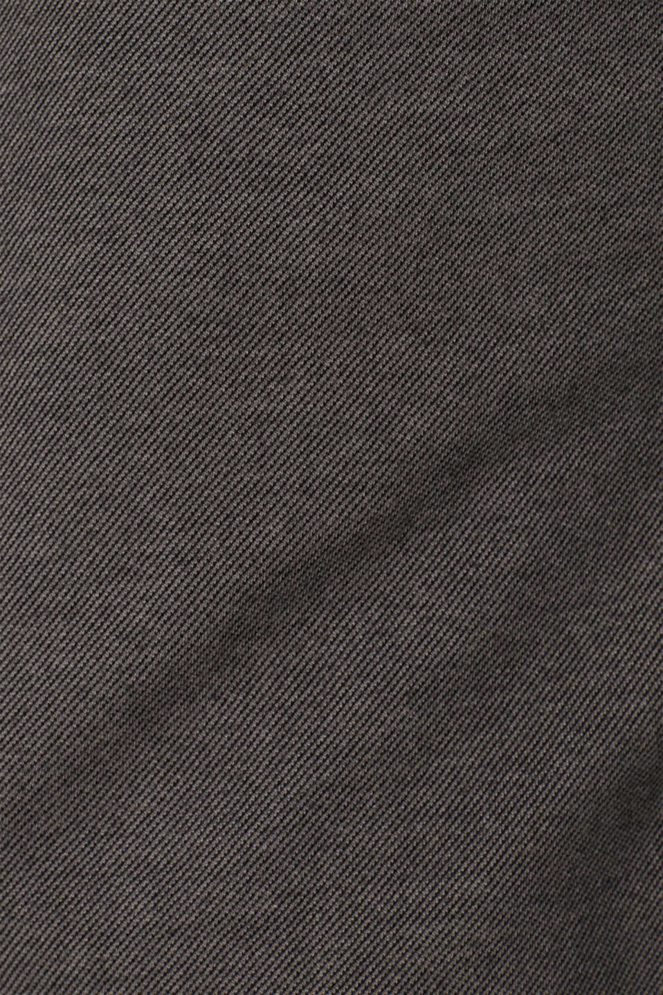 Long sleeve jersey top in 100% cotton, GREY, detail image number 4