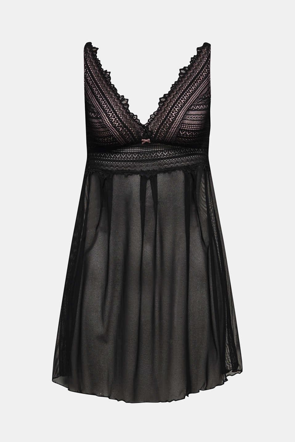 Various Bodywear, BLACK, detail image number 4