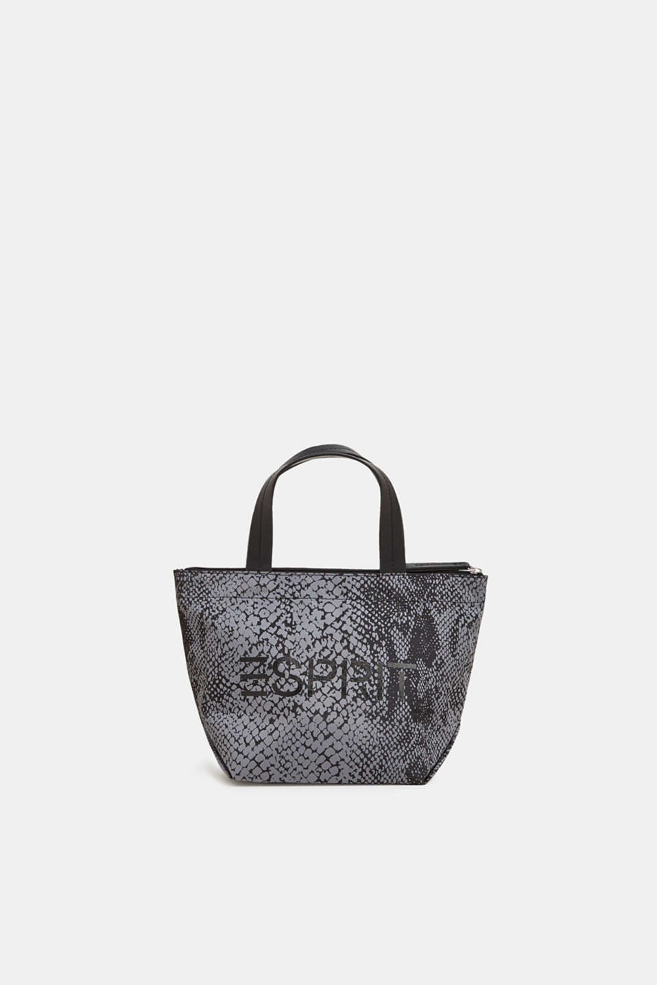 Esprit - Nylon Bag mit Animal- und Logo-Print