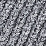 With wool: chunky knit hat, MEDIUM GREY, swatch
