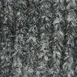 Alpaca blend: hat made of Italian yarn, GREY, swatch