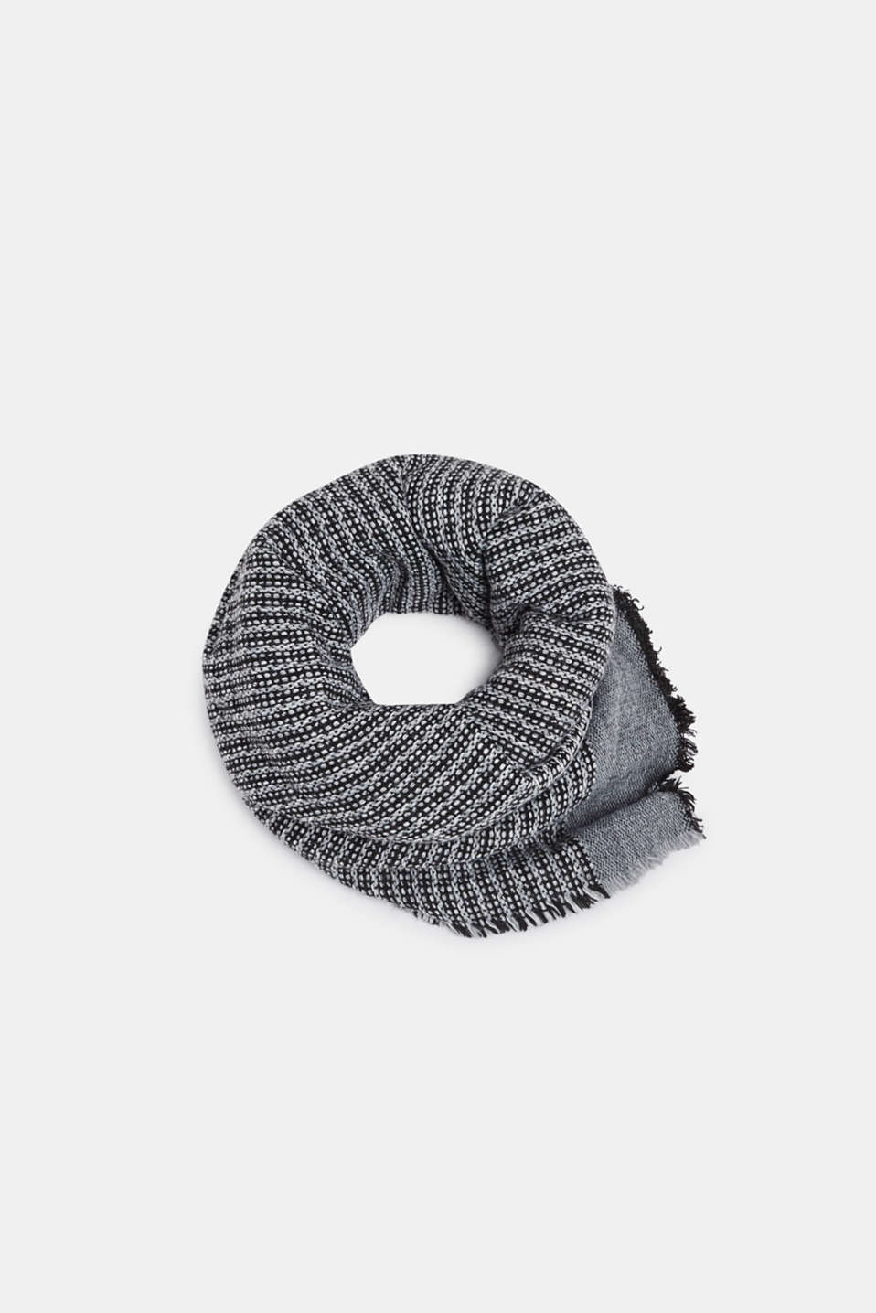 Shawls/Scarves, GREY, detail image number 0