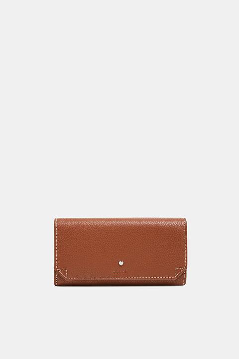 Faux leather purse