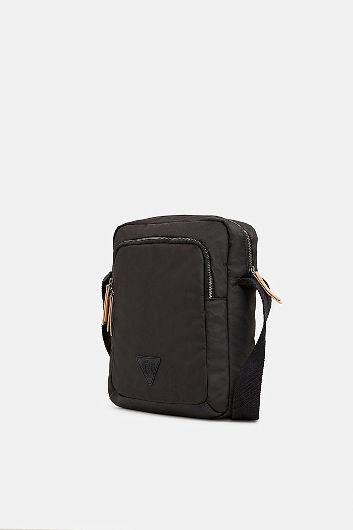 Nylon shoulder bag, BLACK, detail image number 2