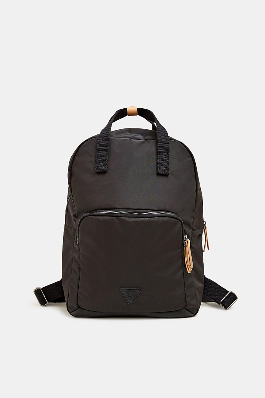 Rucksack in textured nylon
