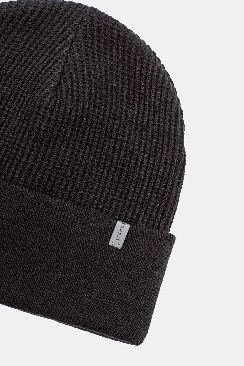 Hats/Caps, BLACK, detail image number 1