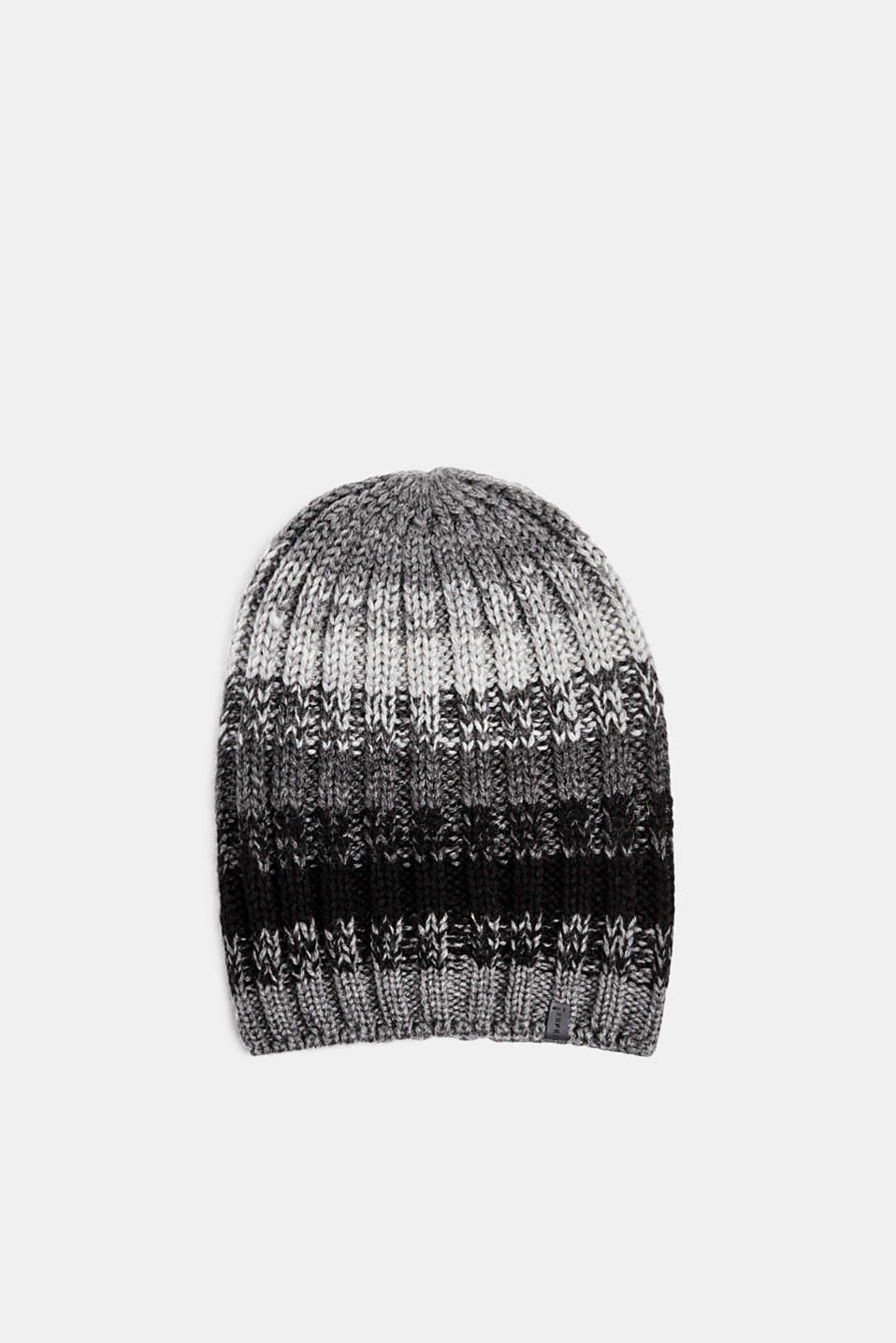 Esprit - With wool: striped beanie
