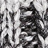 With wool: striped beanie, DARK GREY, swatch