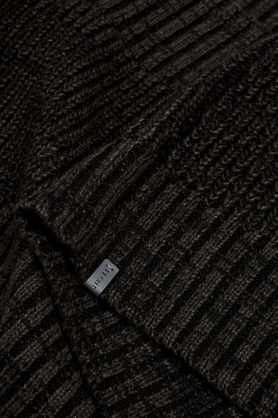 Knit snood, DARK GREEN, detail image number 2
