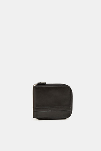 Wallet made of chromium-free leather