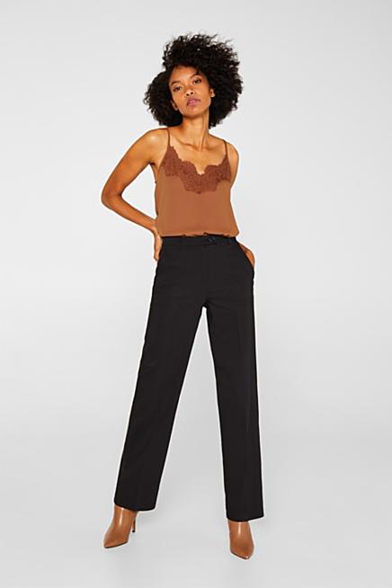 gamme complète d'articles prix modéré achats Esprit : Pantalons femme sur notre boutique en ligne   ESPRIT